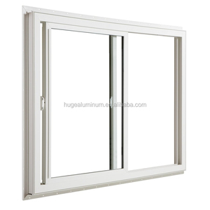 Aluminum doors and windows with toughened double glazed glass filled with argon gas