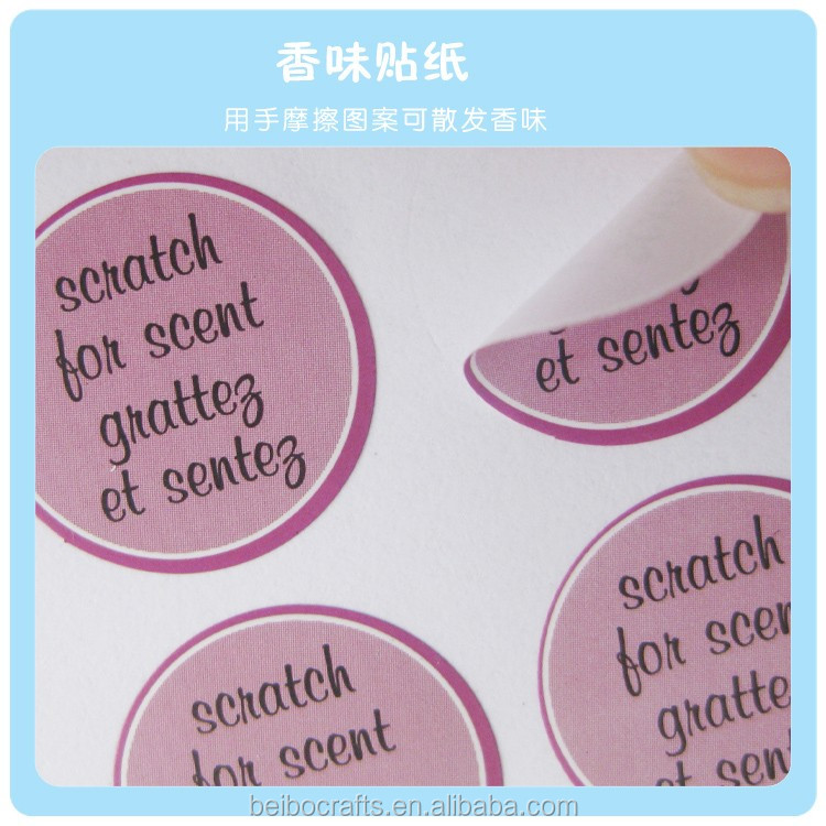 Custom Scratch Sniff Label, Custom Scratch Sniff Label Suppliers and ...