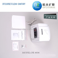 Factory price automatic white hand dryer motor for home