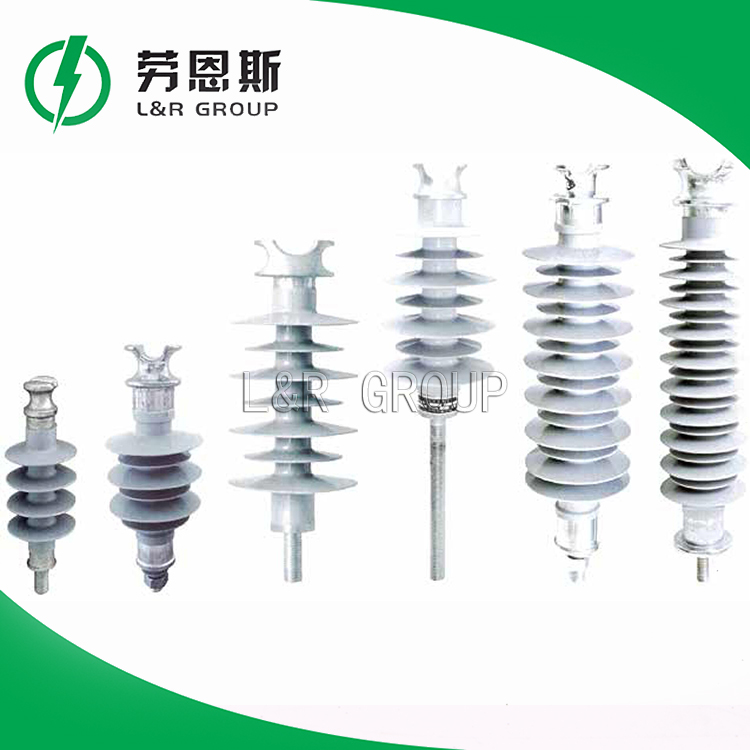 Factory wholesale brown porcelain pin type insulator 22kv