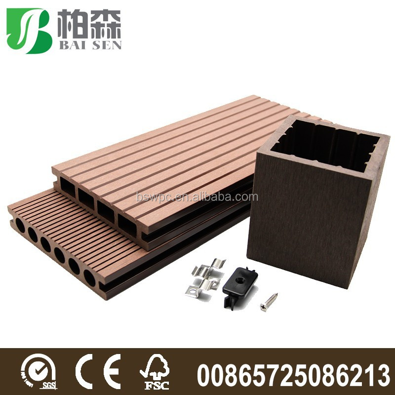 Barato material decking compuesto embaldosado motorizado for Cheap decking material