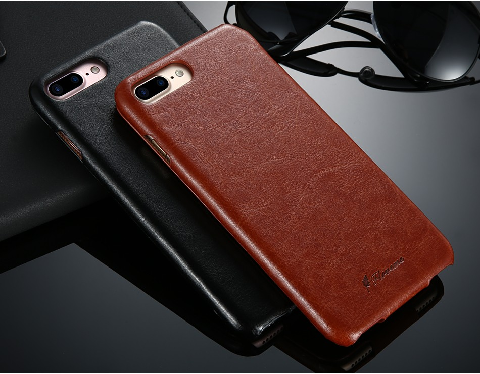 Vintage Flip Leather Iphone 6 6S 7 / 7 Plus  Luxury Vertical PU Leather Wallet Phone Cover For Iphone6 Capa