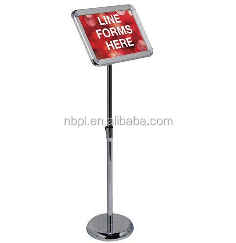 Advertising poster stand,floor-standing sign holder,display stand for advertisement