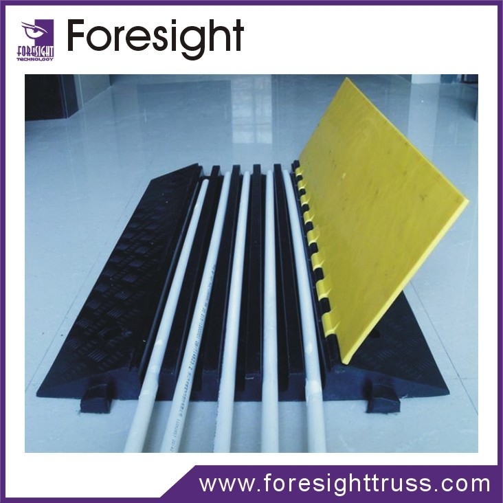 foresight Cable protectors rubber cable ramp speed bump Cable rubber car loading Ramp