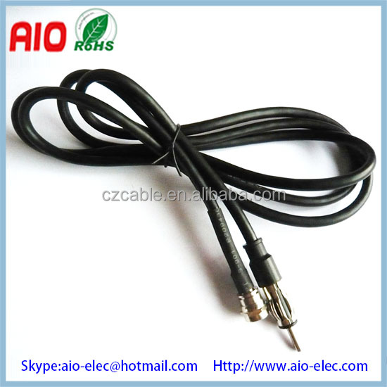 Car Antenna Cable Extension Wire Motorolla Male Ends