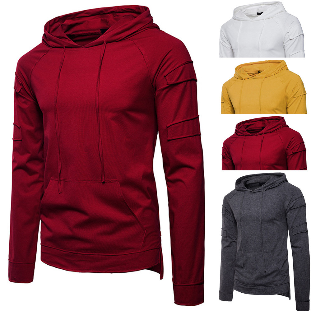 c41c045933c Hoodies   Sweatshirts Cheap Hoodies   Sweatshirts Feitong 2018 Fashion Men s  Autumn Pure.We offer the best wholesale price
