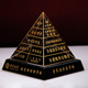 Paperweight Crystal 3D Engraving Egyptian Statue Pyramid Paper Weight