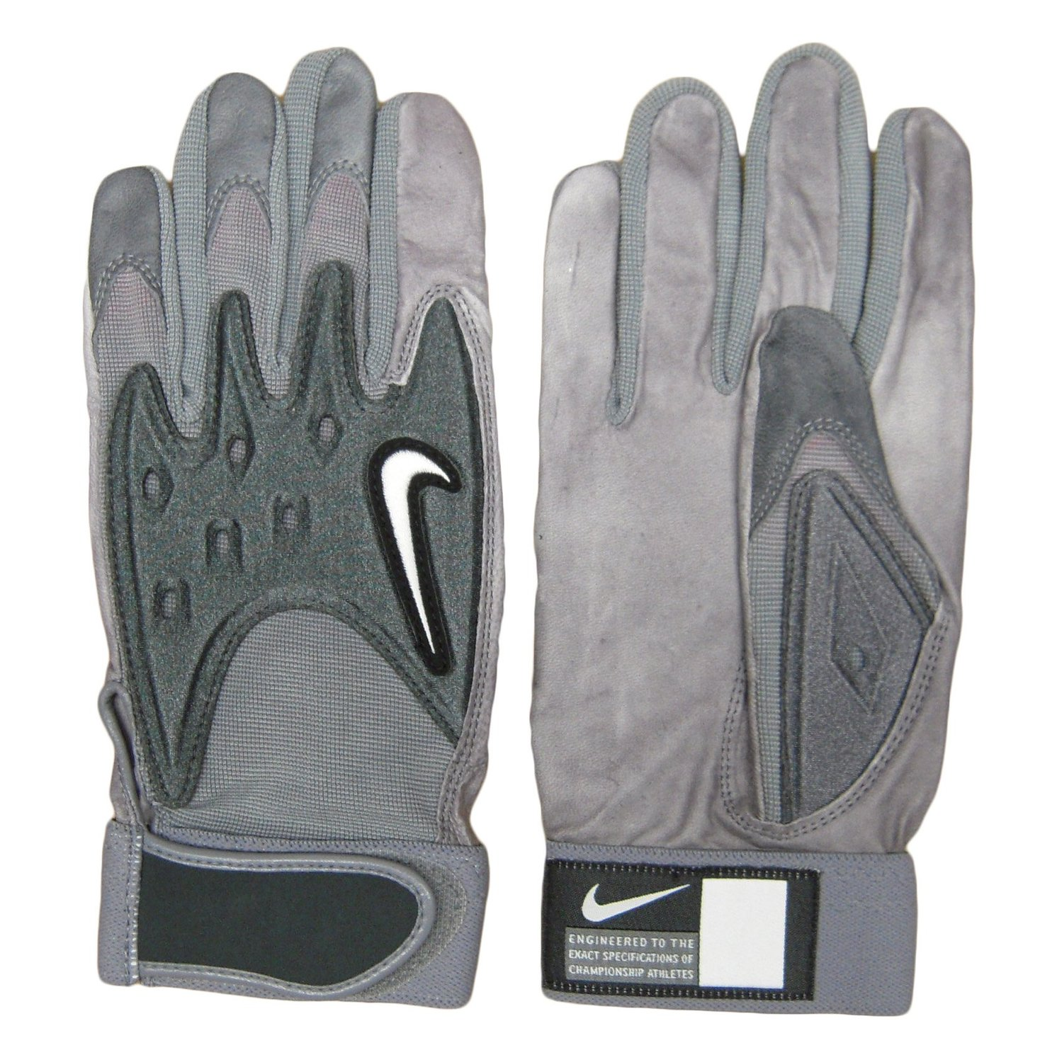 cfbd14ef91e4 Get Quotations · Nike College D-Tack III Men s Football Gloves - Leather  Palm - Size Large