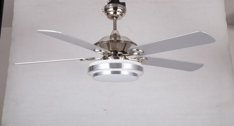Cost price top quality wood blade ceiling fan with light