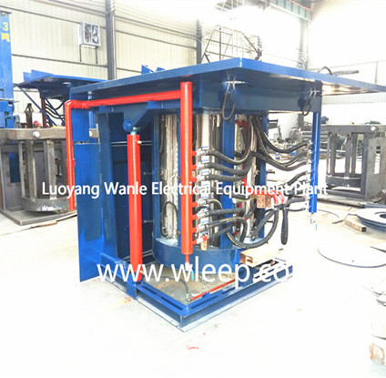 3T Steel Shell IF Induction Steel Melting Furnace