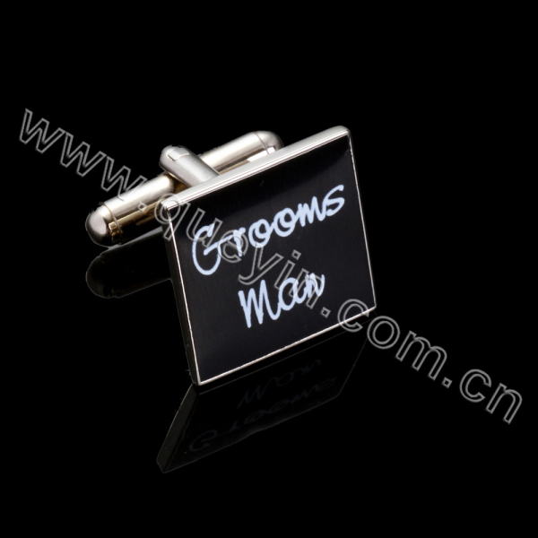 Stainless Steel Jewelry Main Material and Gift Occasion Metal Cufflinks