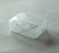 Small PP Material Plastic Clear Carrying Storage Boxes for Screws and Gadgets