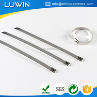 thick stainless steel band cable ties