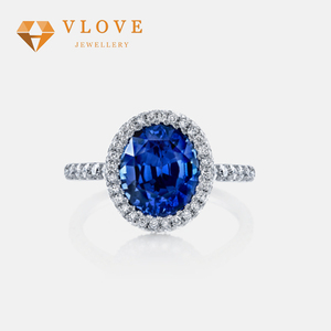 Factory wholesale custom silver 925 new model gold wedding ring designs halo tanzanite wedding ring for girl