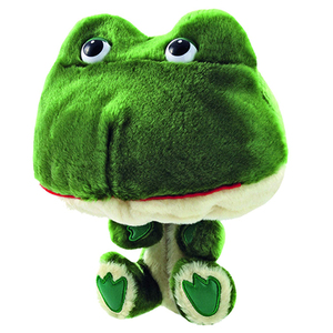 2018 New Design plush animals Golf club head covers Cute Frog driver headcovers oem golf wood Head cover