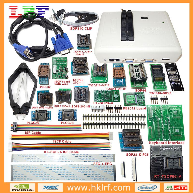 Original Rt809h Nand Flash Universal Programmer + 24 Adapters - Buy  Rt809h,Rt809h Nand Programmer,Rt809h Universal Ic Programmer Product on