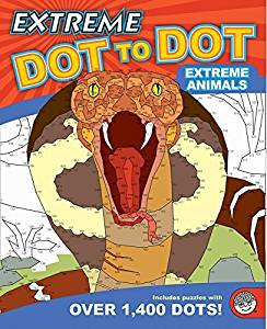 Extreme Dot to Dot: Extreme Animals Game by MindWare