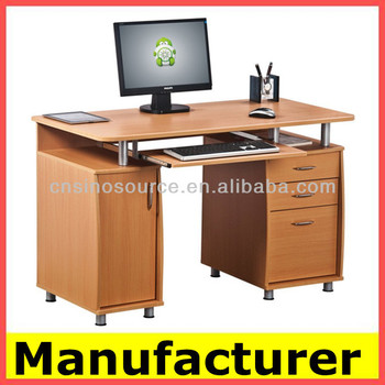 Hot Low Price Morden Wooden Office Computer Desk Table Desks For
