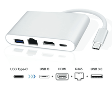 USB-C концентратор Basix(Китай)