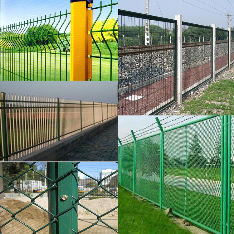 Anti Climb Dipped Metal Construction Safety Crowd Control