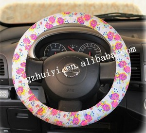 heated steering wheel cover car accessory steering wheel cover pu car Steering wheel cover