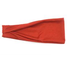 Эластичная лента для волос унисекс, однотонный спортивный ободок для йоги, для занятий фитнесом, на лето(Китай)