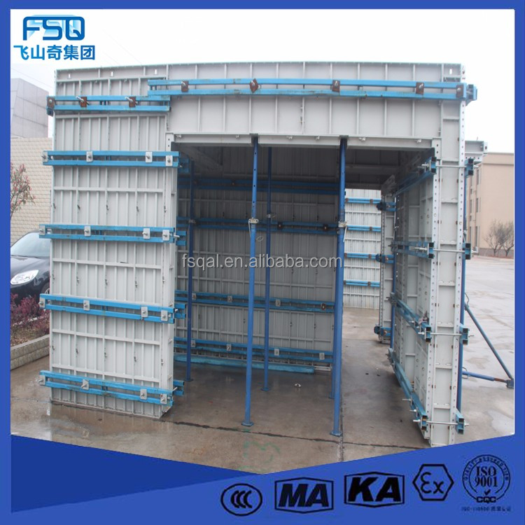Aluminum Alloy formwork VS individual bamboo recycling wall tile