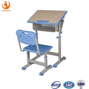 Drawing desk drafting drawing table school furniture supplier student desk and chair sets