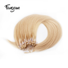 Wholesale Crochet Braid Natural Brazilian Hair Micro Ring Hair Extension For White Women