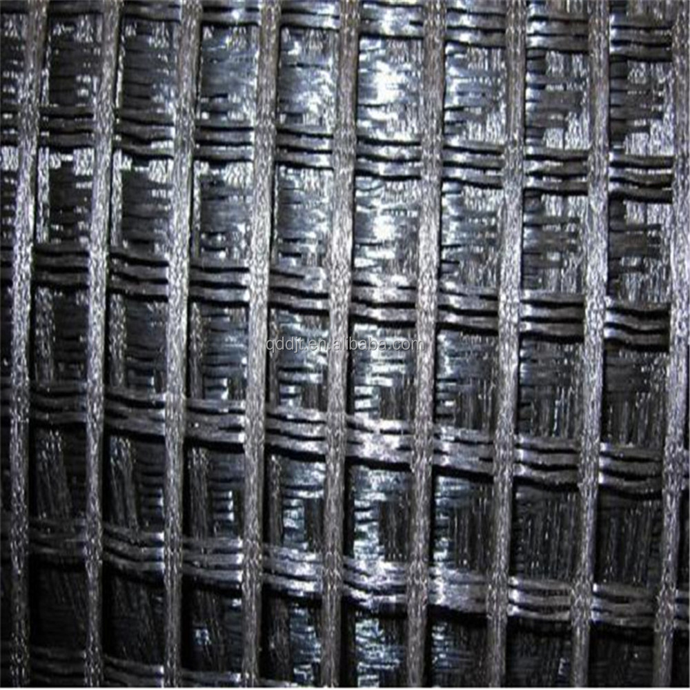 PVC coated polyester geogrid/knitted PET geogrid