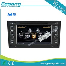 2 din car radio car dvd player for Audi a8 with gps navigation built in bluetooth TV BT DVR IPOD 1080P 3G WIFI