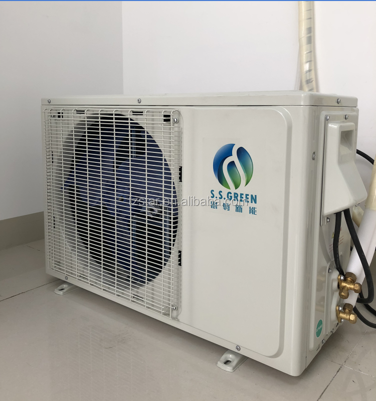 48V DC 100% home air conditioner parts, solar air conditioner for home