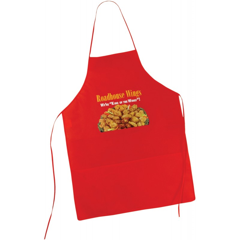 Custom Durable Comfortable Housewife Cooking red black kitchen apron custom print