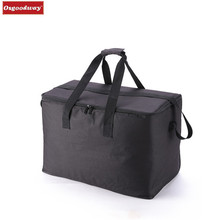 Osgoodway8 Large capacity Cooler Bags Thermal Insulated Bento Box Water Food Fruit Storage Portable Cooler Tote picnic bag
