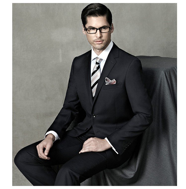 Navy Blue Pant Coat 2 Button Business Formal Suits For Men , Buy 2 Button  Formal Suits,Full Canvas Suitbusiness Formal Suits For Men,Navy Blue Formal
