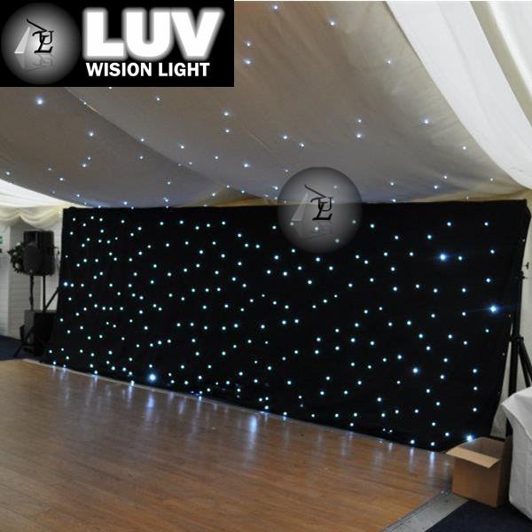 Black Curtains black curtains cheap : Black/ White Leds Backdrop Stage Decoration Backdrop For Church ...