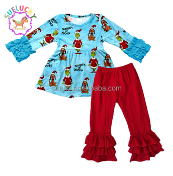 Sue Lucky 2017 beautiful designs cheap Christmas children clothes online