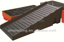2017 New hot product injection plastic spill container ramp/pallet