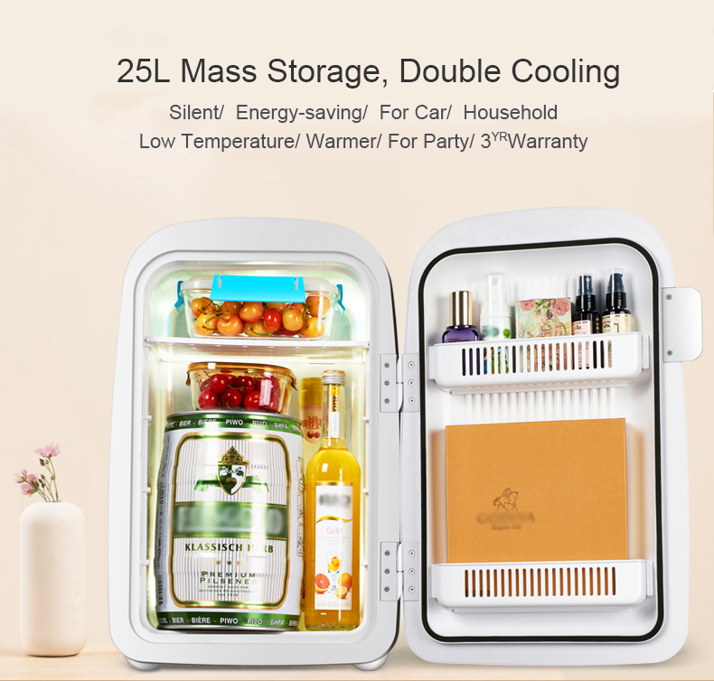 25L Electricity Thermoelectric Cooler and Warmer Mini Fridge Refrigerator