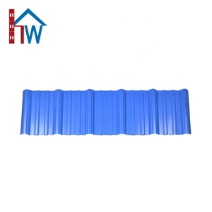 Thermal insulation PVC Plastic Roof Tiles Panels
