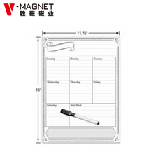 wholesale magnet calendar magnetic whiteboard weekly calendar planner
