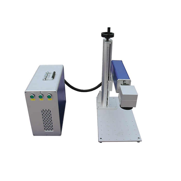 Metal Steel Mini Portable 3d Fiber Laser 50w Marking Machine