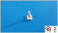 High Technical Ceramic Machine Screw With Slotted Flat Head