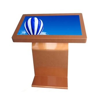 Hot sale stand alone 32 inch all in one touch lcd digital signage