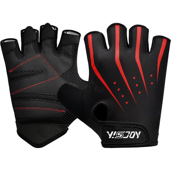 personalized weight lifting gloves with lifting straps/gym fitness gloves