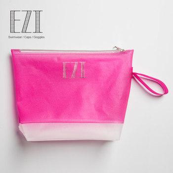 Fashion Design Sand Beach Zipper Frost Wet Swimsuit Pvc Bag