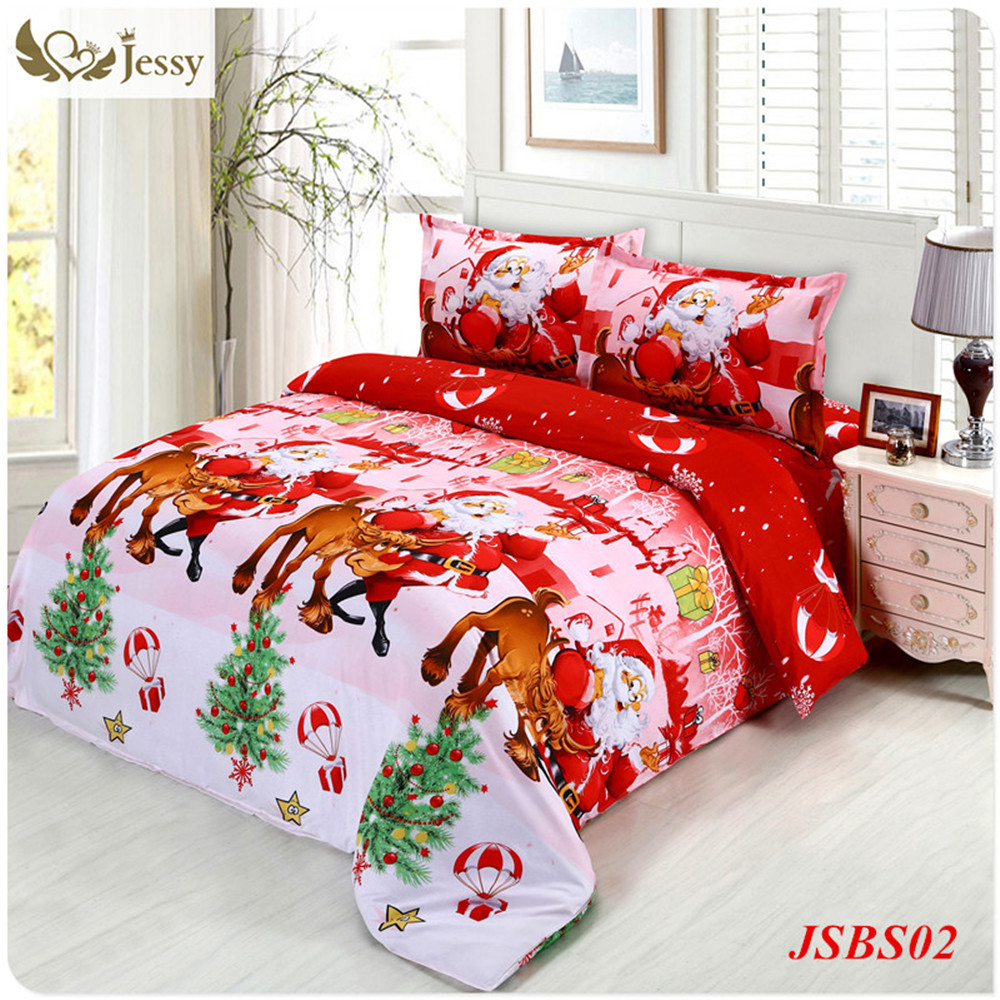 Shopping Christmas appliances is most popular activity for those online shopping fanatics. Beddinginn provides a rather convenient online shopping platform for home decor, if you need Chrismas bedding, here is just where you are looking for,we supply whole assortment of Christmas bedding,comforter sets and most comfortable Christmas bedding for baby and kids.