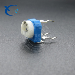 RM065 White Blue Variable Adjustable 10k Ohm 103 10K Trimming Potentiometer