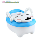 Plastic Infant Toilet Training Chair Baby Comfortable Folding Safety Potty With SGS Approval Factory