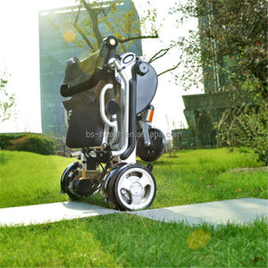 Rehabilitation Therapy Supplies more comfortable foldable manual & electric wheelchair